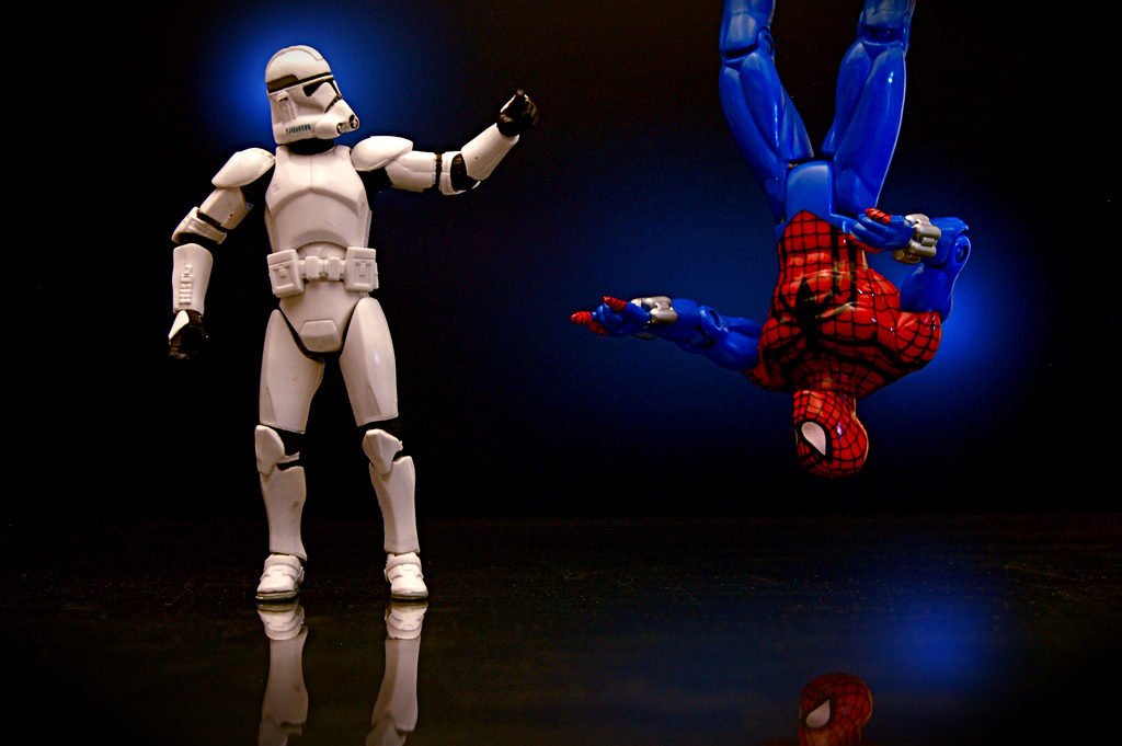 Clone Trooper vs. Spider-Man Clone